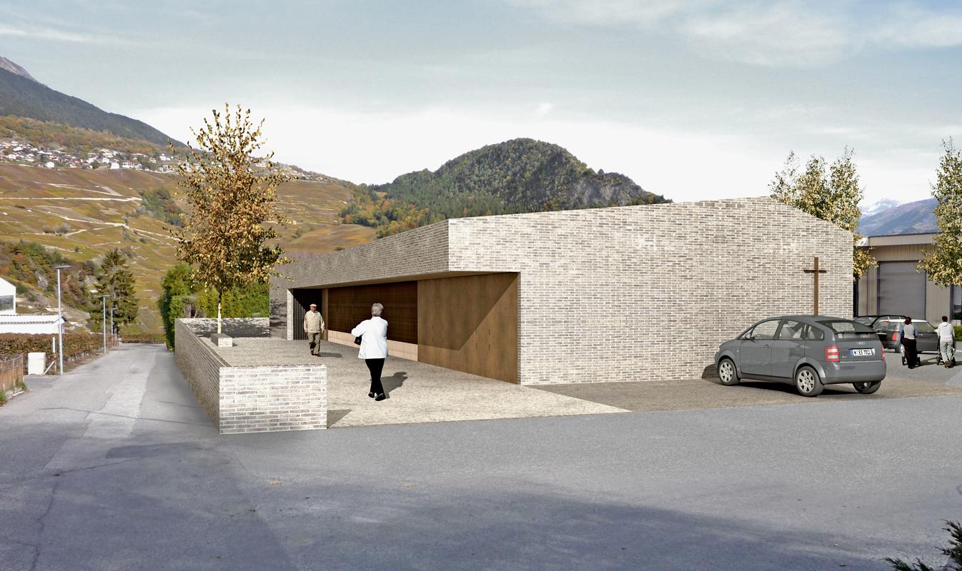 construction d'une nouvelle crypte à st-séverin - 2013 - cheseauxrey sàrl