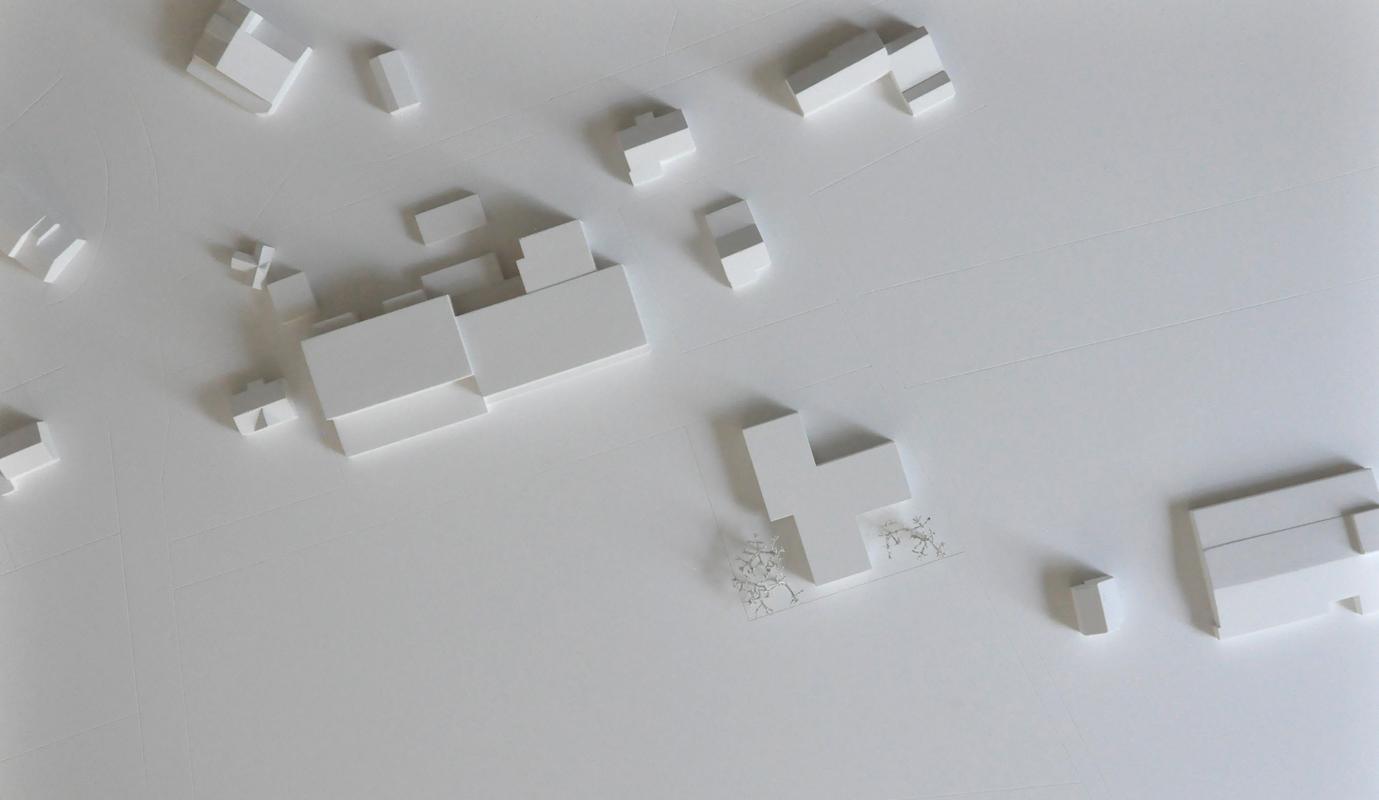 maquette de l'agrandissement d'un foyer d'accueil collombey - 2015 - 3ème rang / 2ème prix - cheseauxrey sàrl