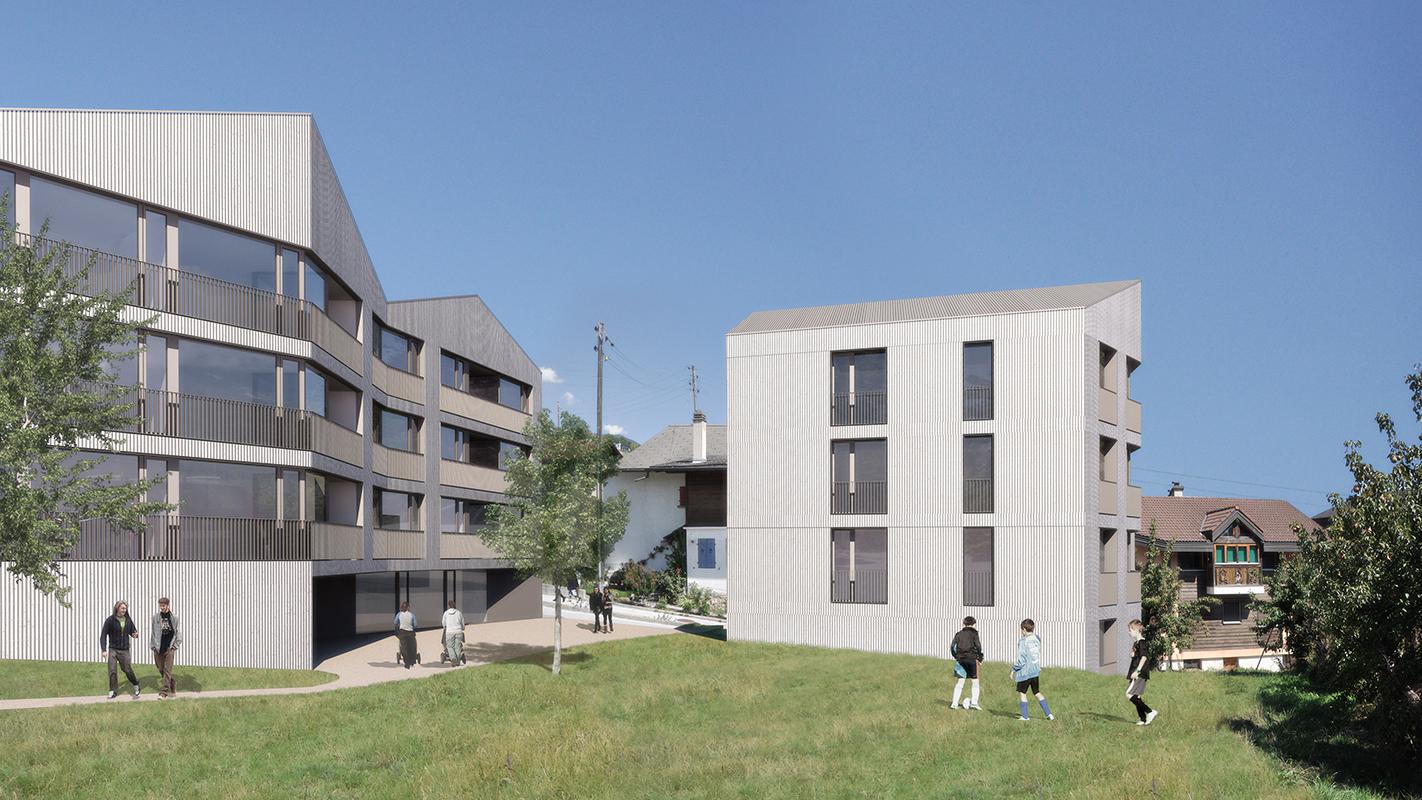 commande de projets_habitation à la Crettaz_commune de Savièse - 2016 - 1er prix - cheseauxrey sàrl