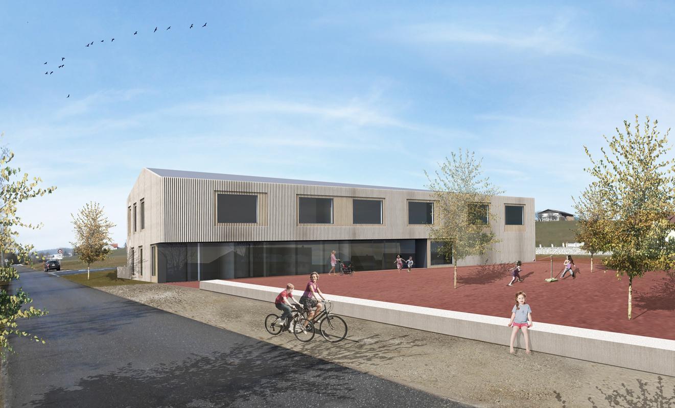 construction d'une école à vaulruz - 2014 - 2ème tour - cheseauxrey sàrl