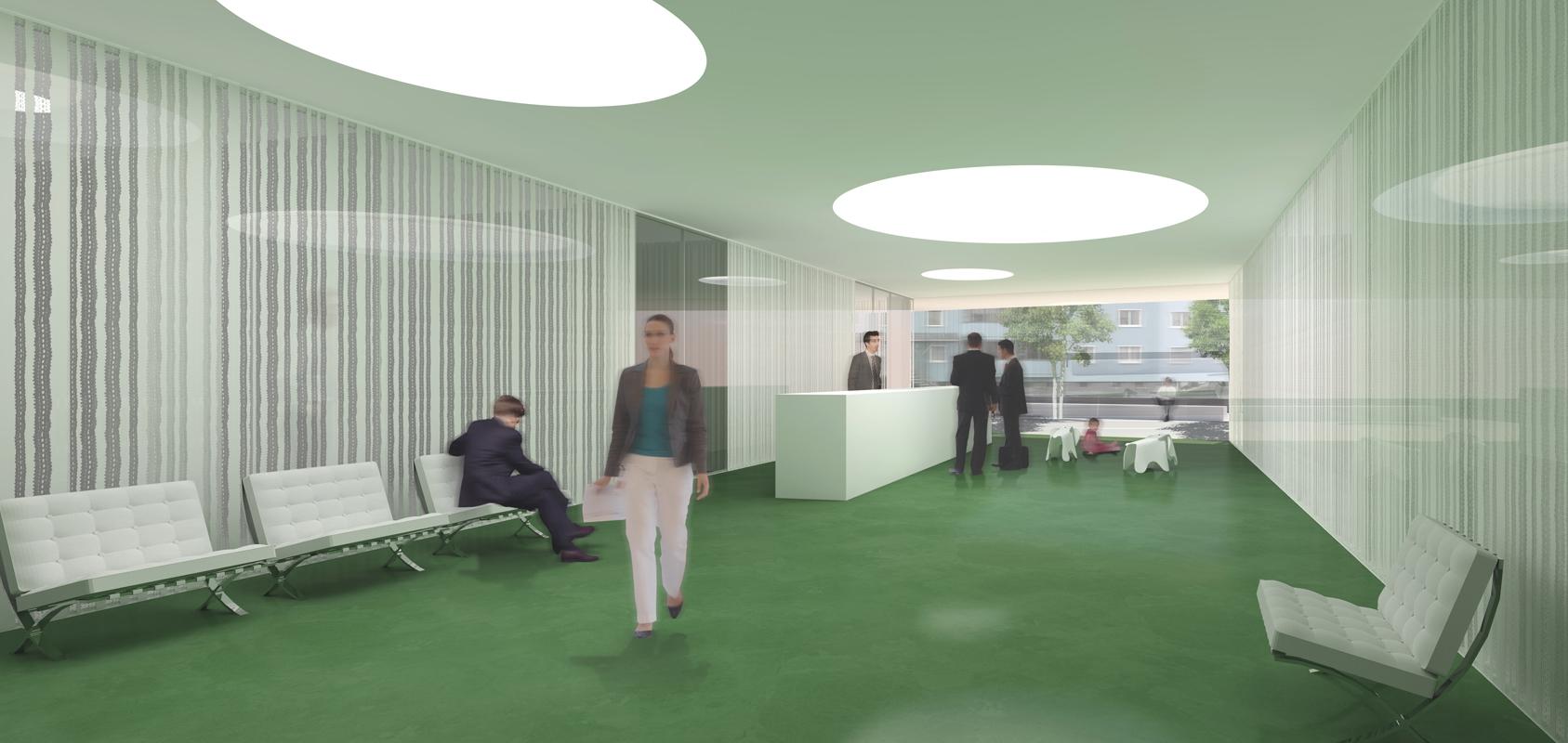 rénovation de la banque raiffeisen de martigny - 2012 - cheseauxrey sàrl