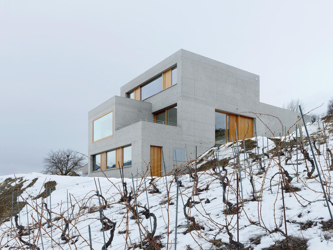habitation à grimisuat - 2014 © Thomas Jantscher