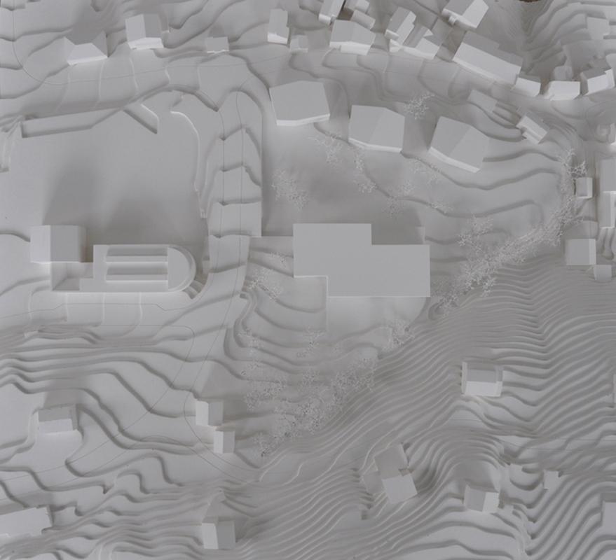 maquette de la construction d'un ems à venthone - 2012 - 3ème prix - cheseauxrey sàrl