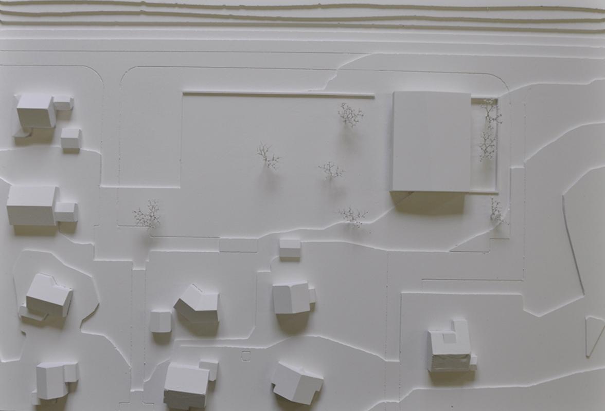 maquette de la construction d'une école à vaulruz - 2014 - 2ème tour - cheseauxrey sàrl