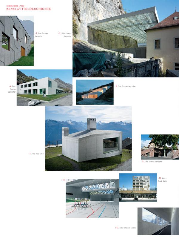 hochparterre 2012 n°5