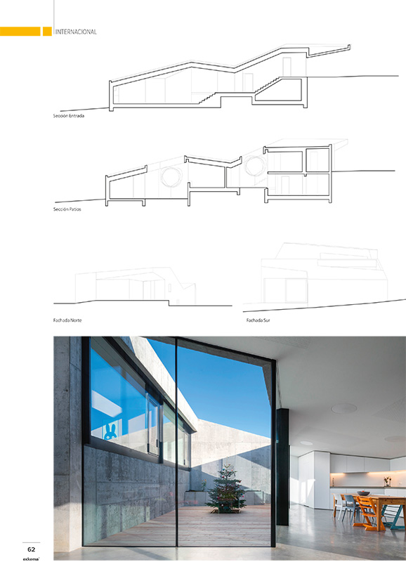 Habitation Savièse - magazine Exkema