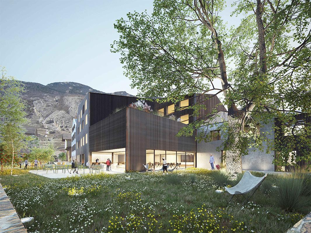 Agrandissement du Foyer et création d'un Centre de Jour - Fondation Domus Ardon - 2019 - 5ème rang / 3ème prix - cheseauxrey sàrl